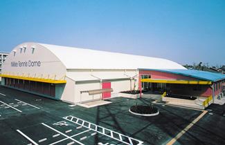 ニッケテニスドーム名古屋校外観